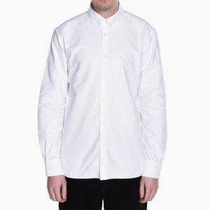Maison Kitsune Oxford Embroidery Classic Shirt BD
