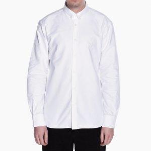 Maison Kitsune Oxford Embroidery Classic Shirt BD