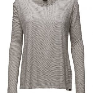 Maison Scotch Basic Long Sleeve Tee In Various Qualities