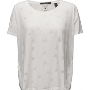 Maison Scotch Basic Short Sleeve Tee With Longer Back
