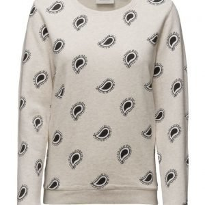 Maison Scotch Basic Sweat With Various Artworks svetari