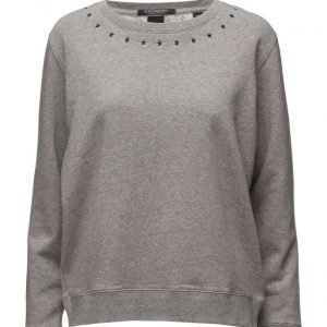 Maison Scotch Crew Neck Sweat With Various Artworks svetari