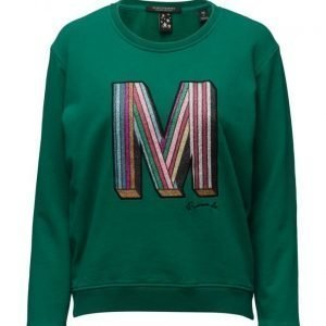 Maison Scotch Crewneck Clubhouse Sweat With Special Em svetari