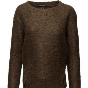 Maison Scotch Fluffy Boucle Sweat neulepusero