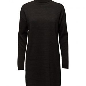 Maison Scotch Knitted Lurex Blend Turtleneck Dress neulemekko