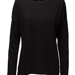 Maison Scotch Light Weight Long Sleeve Tee With Variou