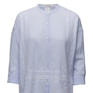 Maison Scotch Lightweight Shirt With Embroidery pitkähihainen pusero