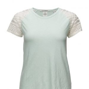 Maison Scotch Linen Short Sleeve Tee