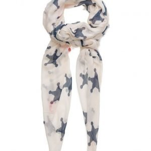 Maison Scotch Scarf With Various Allover Prints huivi