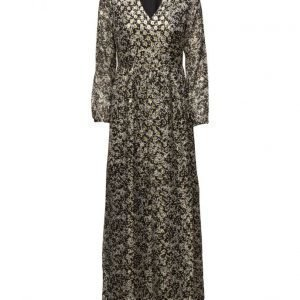 Maison Scotch Silk Lurex Jacquard Maxi Dress maksimekko