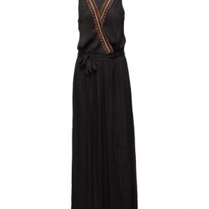 Maison Scotch Silky Feel Wrapover Maxi Dress With Spec maksimekko