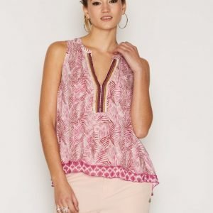 Maison Scotch Sleeveless Beach Top Toppi Kuviollinen