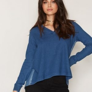 Maison Scotch Soft Sweat Denim Back Svetari Blue