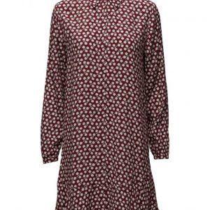 Maison Scotch Viscose Dress With Peplum Hem lyhyt mekko