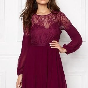 Make Way Admira Dress Purple / Red