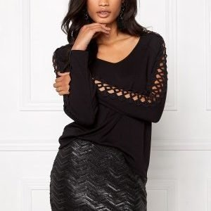 Make Way Alexia Top Black