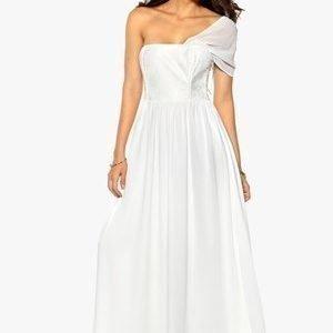 Make Way Ashleigh Dress Valkoinen