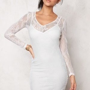 Make Way Athena Dress White