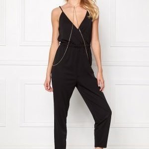 Make Way Audrey Jumpsuit Black