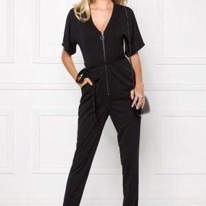 Make Way Britney Jumpsuit Black