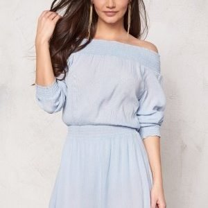 Make Way Daphne Dress Light blue