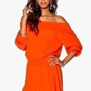 Make Way Daphne Dress Orange