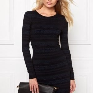 Make Way Ella Dress Black / Blue