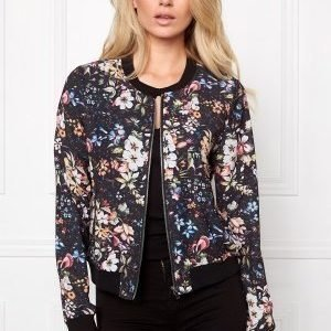 Make Way Emerly Bomber Jacket Multi / Floral
