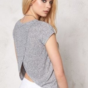 Make Way Haidy Top Light grey melange