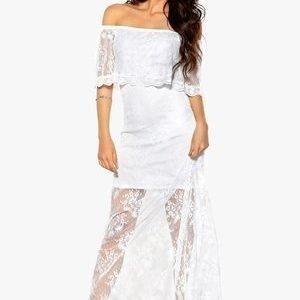 Make Way Harlow Dress Valkoinen