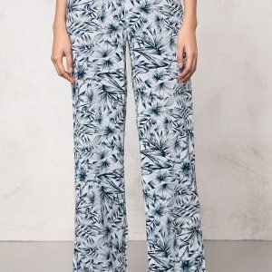 Make Way Harper Pants White / Blue / Patterned