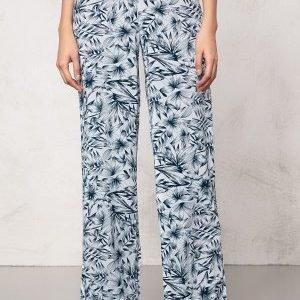 Make Way Harper Pants White / Blue / Patterned