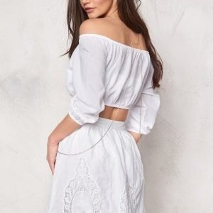 Make Way Indra Skirt Valkoinen