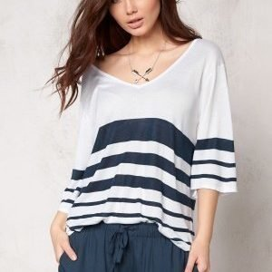 Make Way Iris Sweater White / Blue / Striped