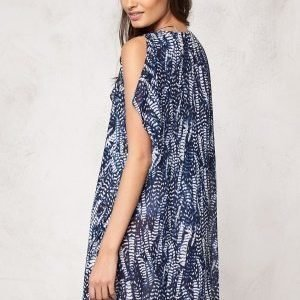Make Way Izorte Dress Dark blue / White / Patterned