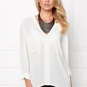 Make Way Juno Blouse White