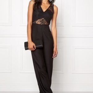 Make Way Kaylyn Jumpsuit Black