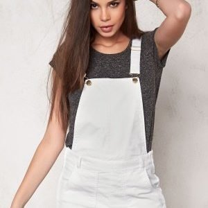 Make Way Kim Dungarees White