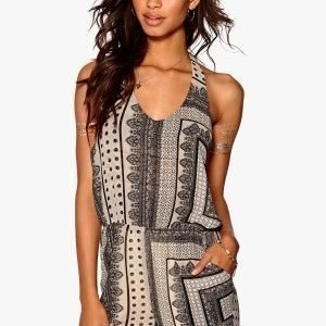 Make Way Lainy Playsuit Light grey / Black / Paisley