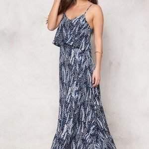 Make Way Milana Dress Dark blue / White / Patterned