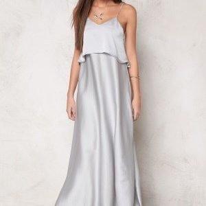 Make Way Milana Dress Silver grey