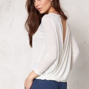 Make Way Mirella Top White / Melange