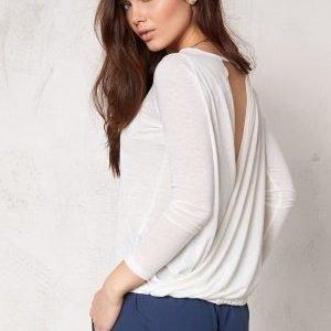Make Way Mirella Top White / Melange