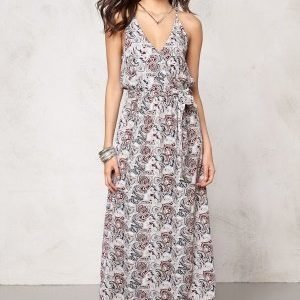 Make Way Nicole Dress Red / Blue / Paisley