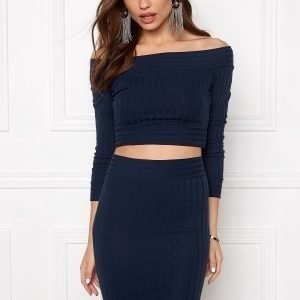 Make Way Rubyy Top Midnight blue