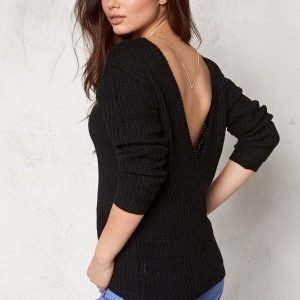 Make Way Savannah Sweater Black