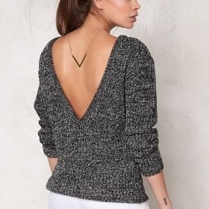 Make Way Savannah Sweater Black / White