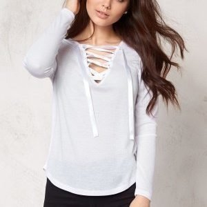 Make Way Selby Top White