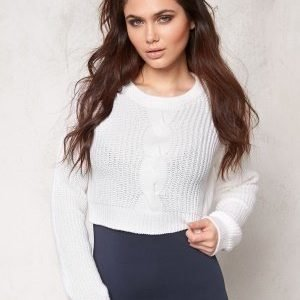 Make Way Shirley Sweater White