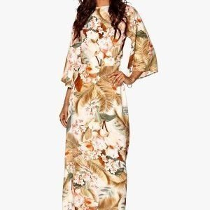 Make Way Siena Dress Offwhite / Multi / Floral